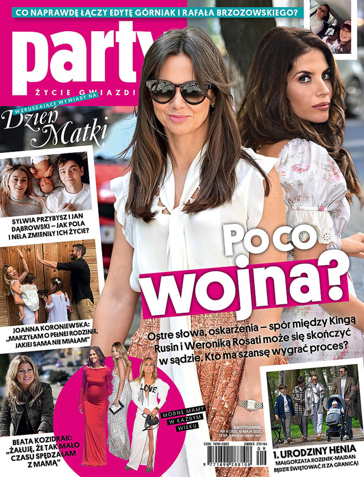 Kinga Rusin i Weronika Rosati na okładce Party