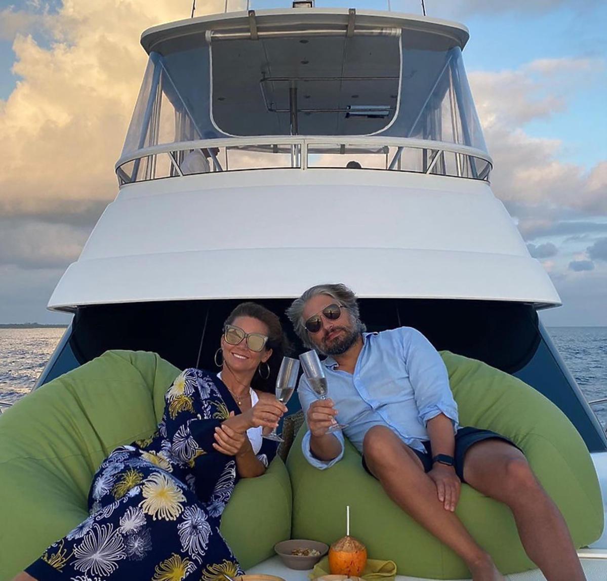 Kinga Rusin na wakacjach na rajskiej wyspie