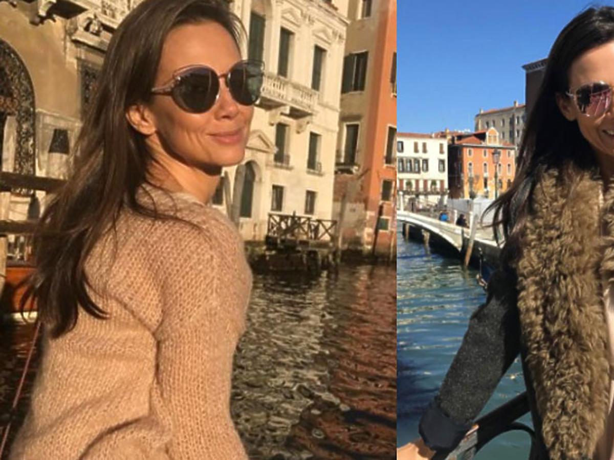 Kinga Rusin na wakacjach w Wenecji