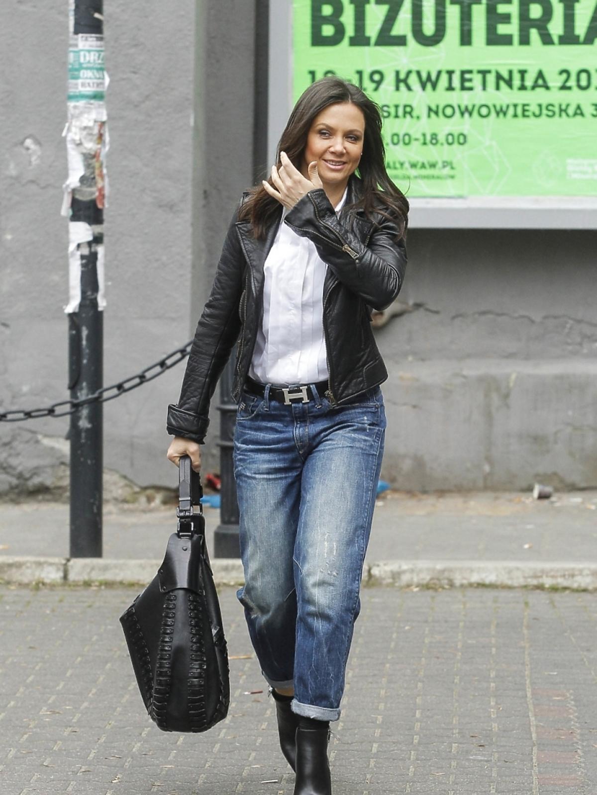 Kinga Rusin przed studiem DDTVN