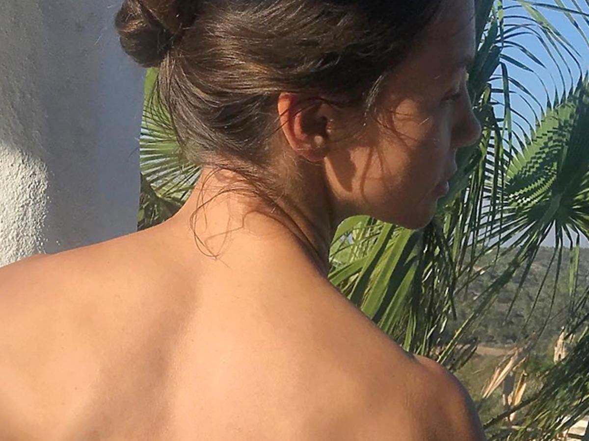 Kinga Rusin topless na Instagramie