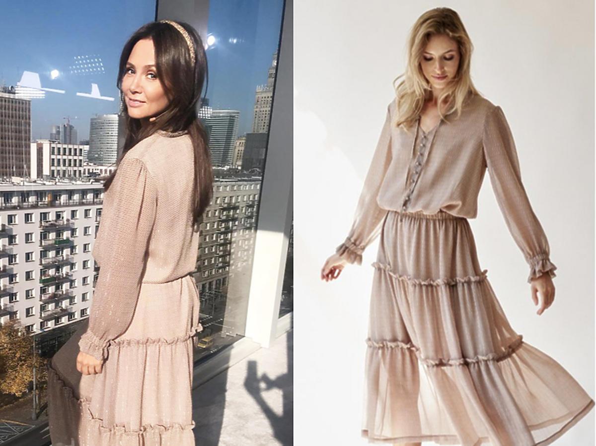 Kinga Rusin w sukience różowej 303 Avenue