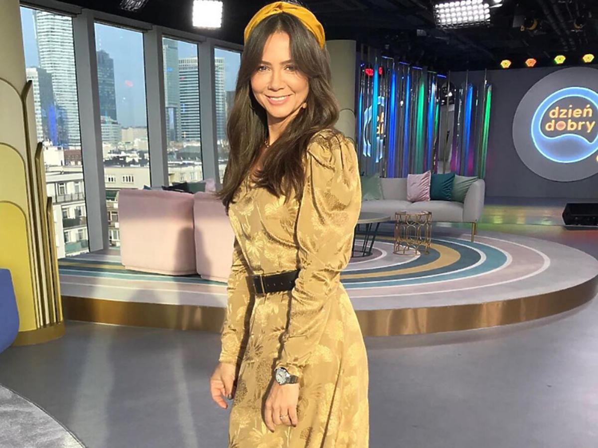 Kinga Rusin w sukience z Reserved