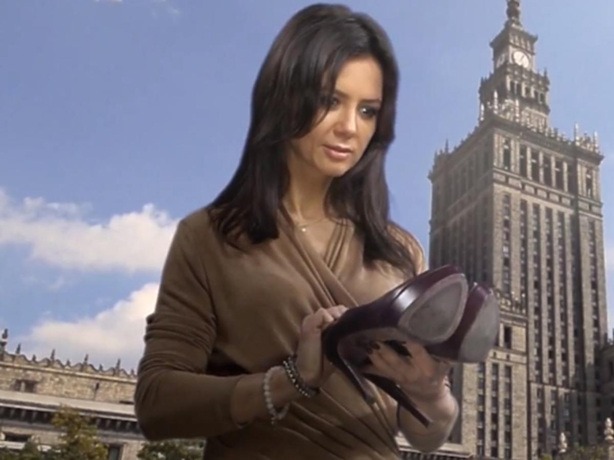 Kinga Rusin wejdzie na szczyt Pałacu Kultury w szpilkach