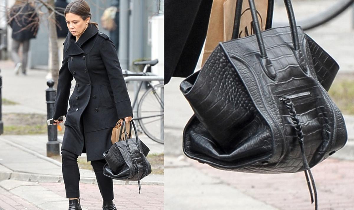 Kinga Rusin z torbą Celine za prawie 11 tys. złotych