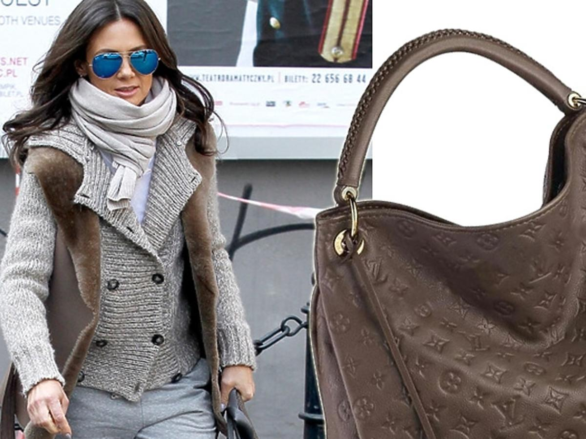 Kinga Rusin z torebką Louis Vuitton