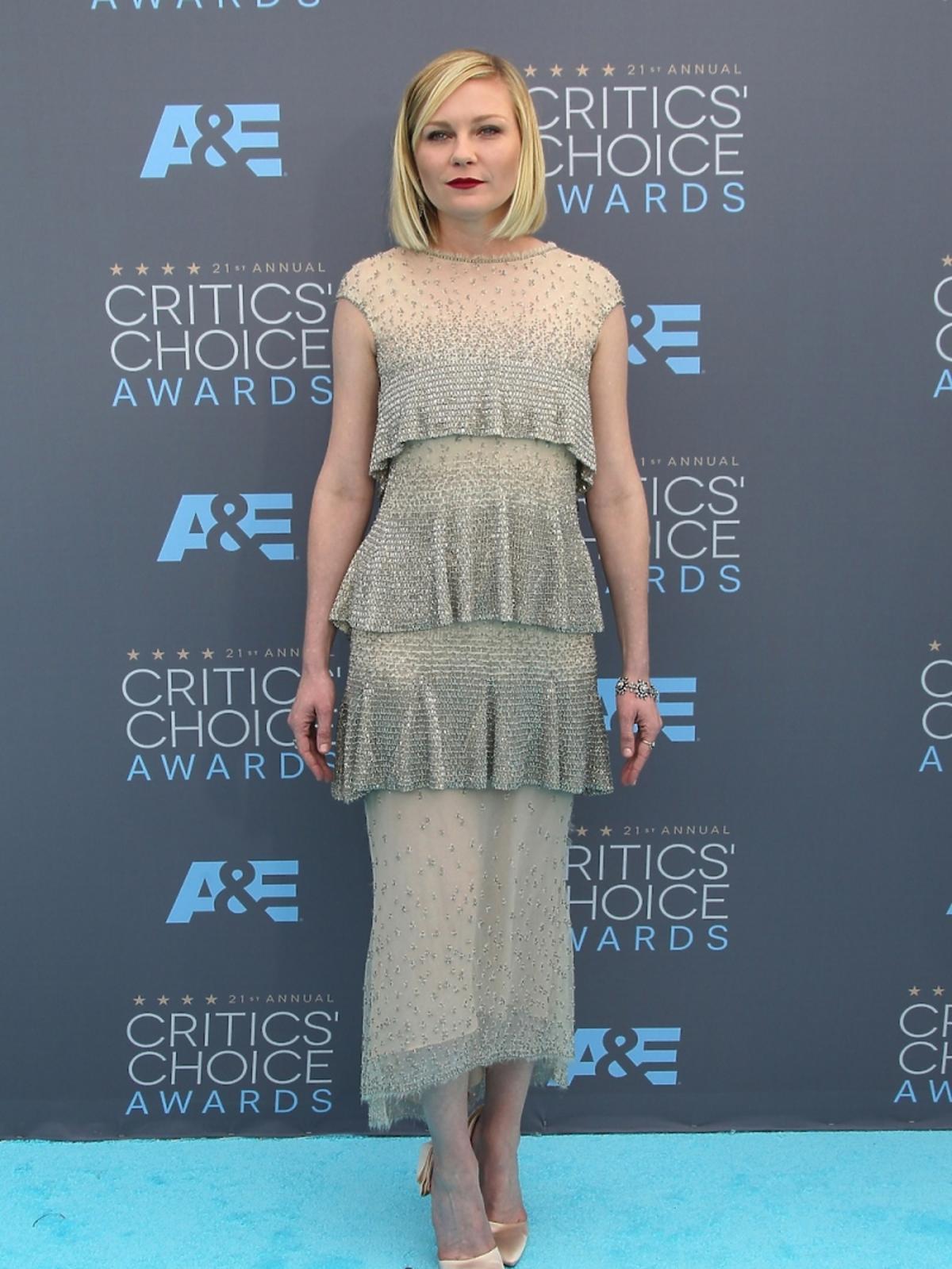 Kirsten Dunst na Critics Choice Awards 2016