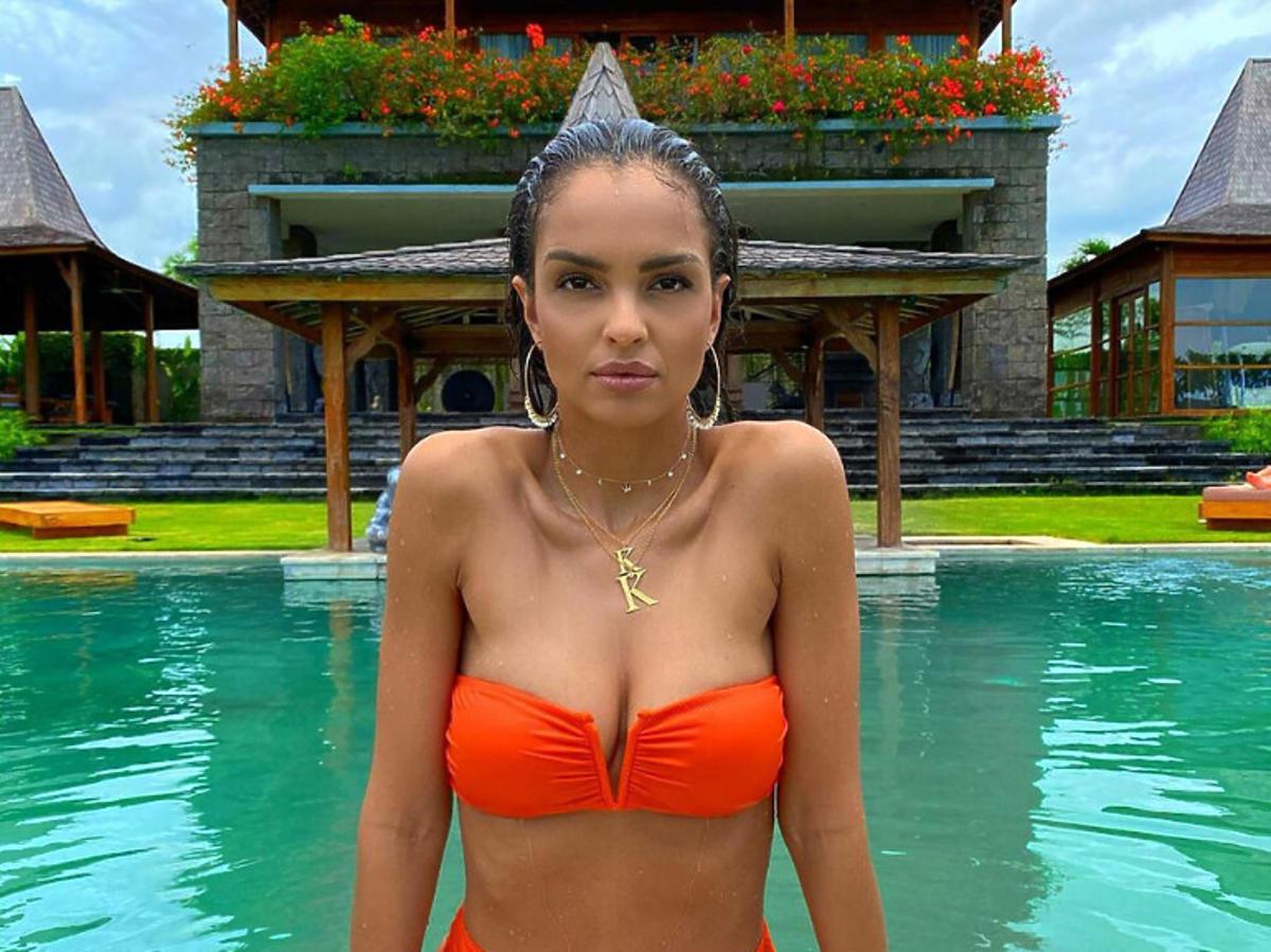 Klaudia El Dursi na Bali