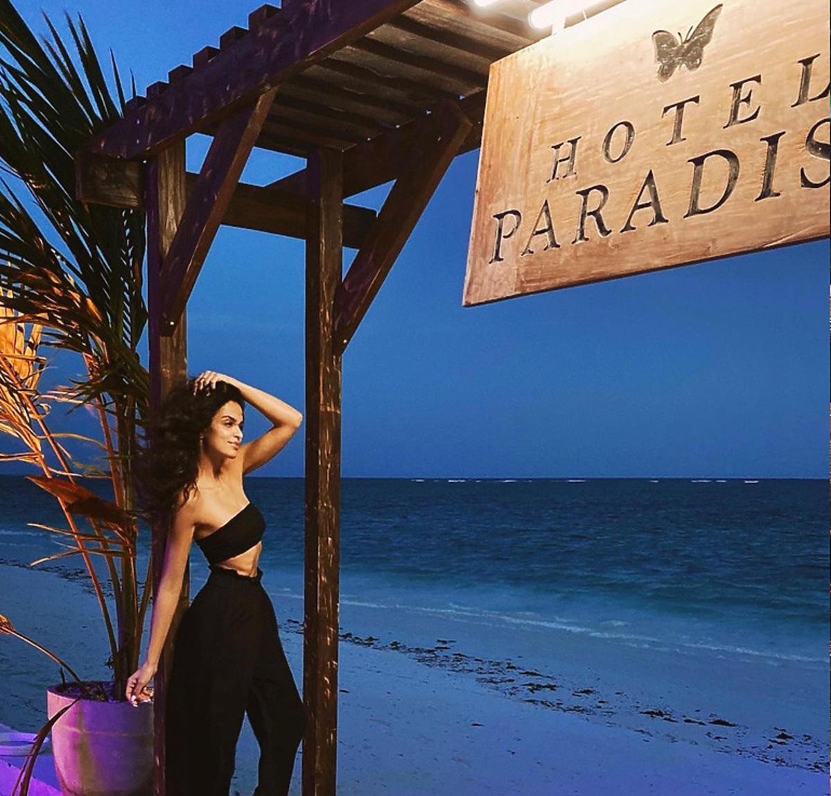 Klaudia El Dursi na plaży