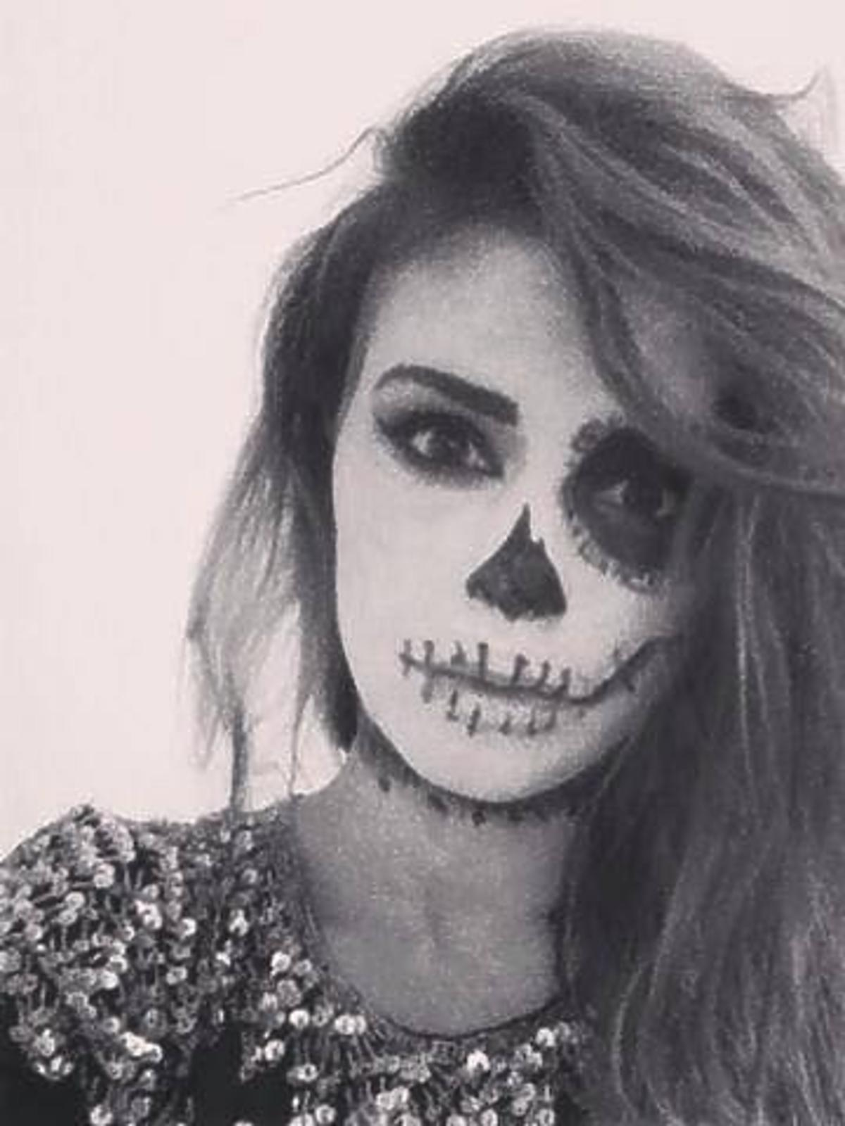Klaudia Halejcio na Halloween
