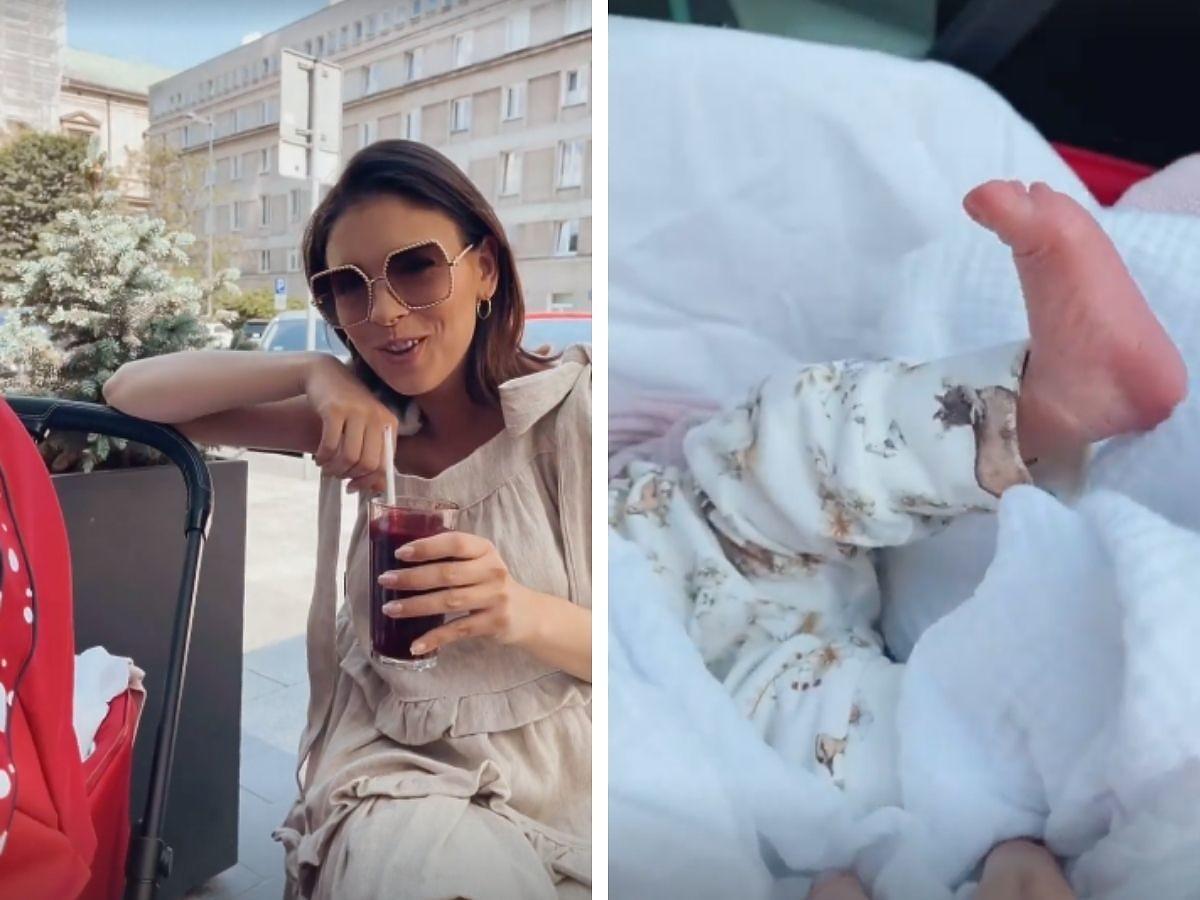 Klaudia Halejcio pokazała nagranie z córeczką