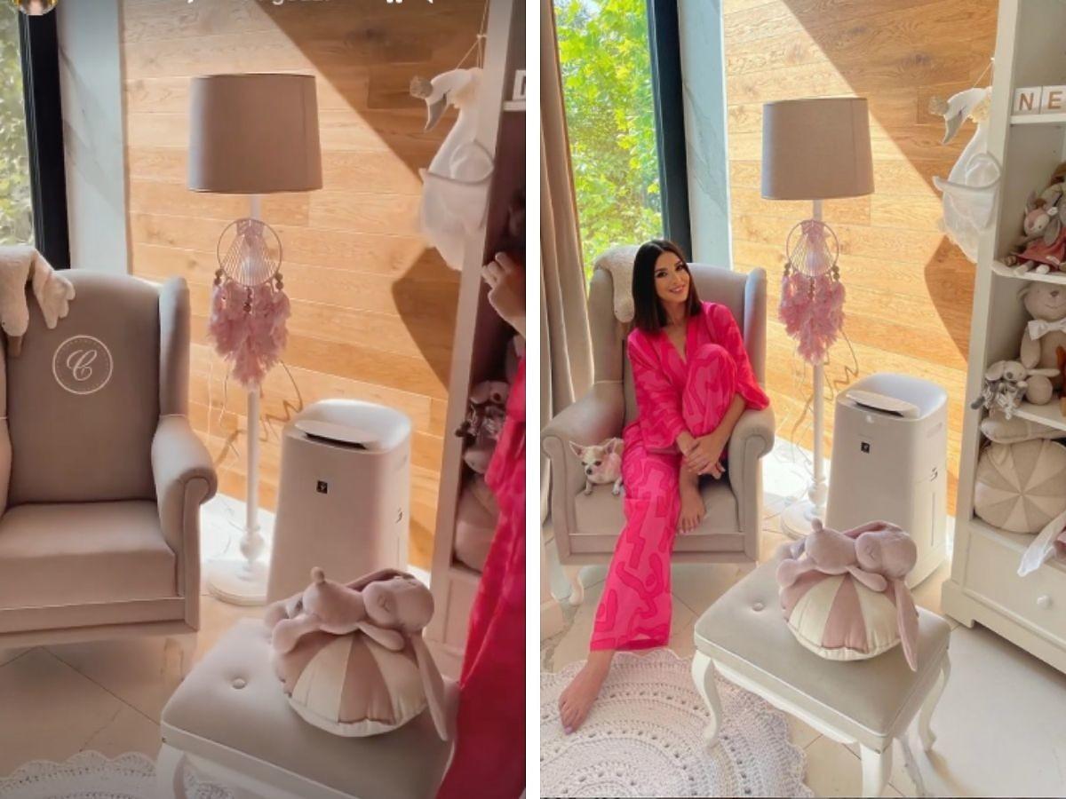 Klaudia Halejcio pokazała pokój córki