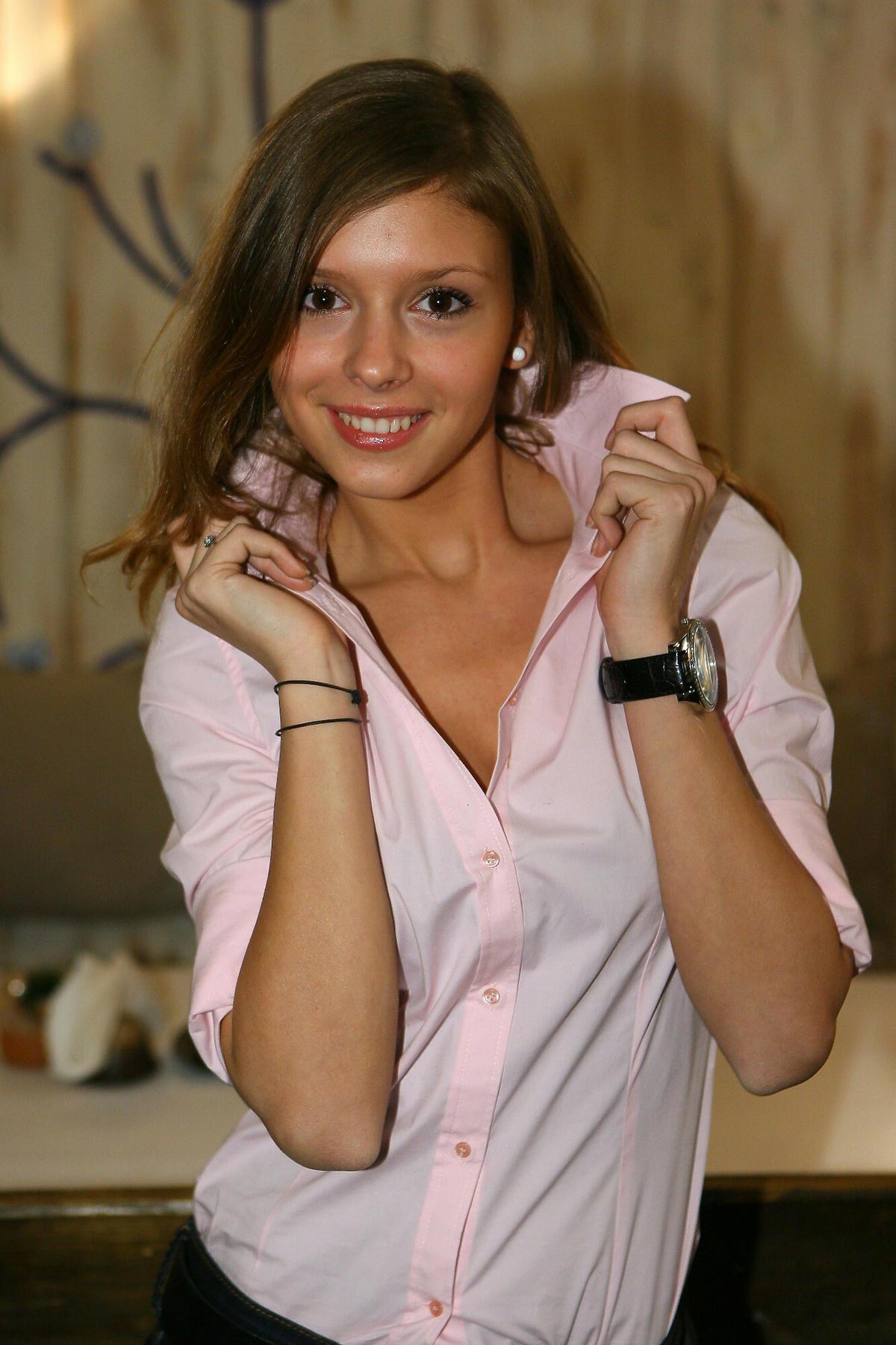 Klaudia Halejcio w 2007 roku