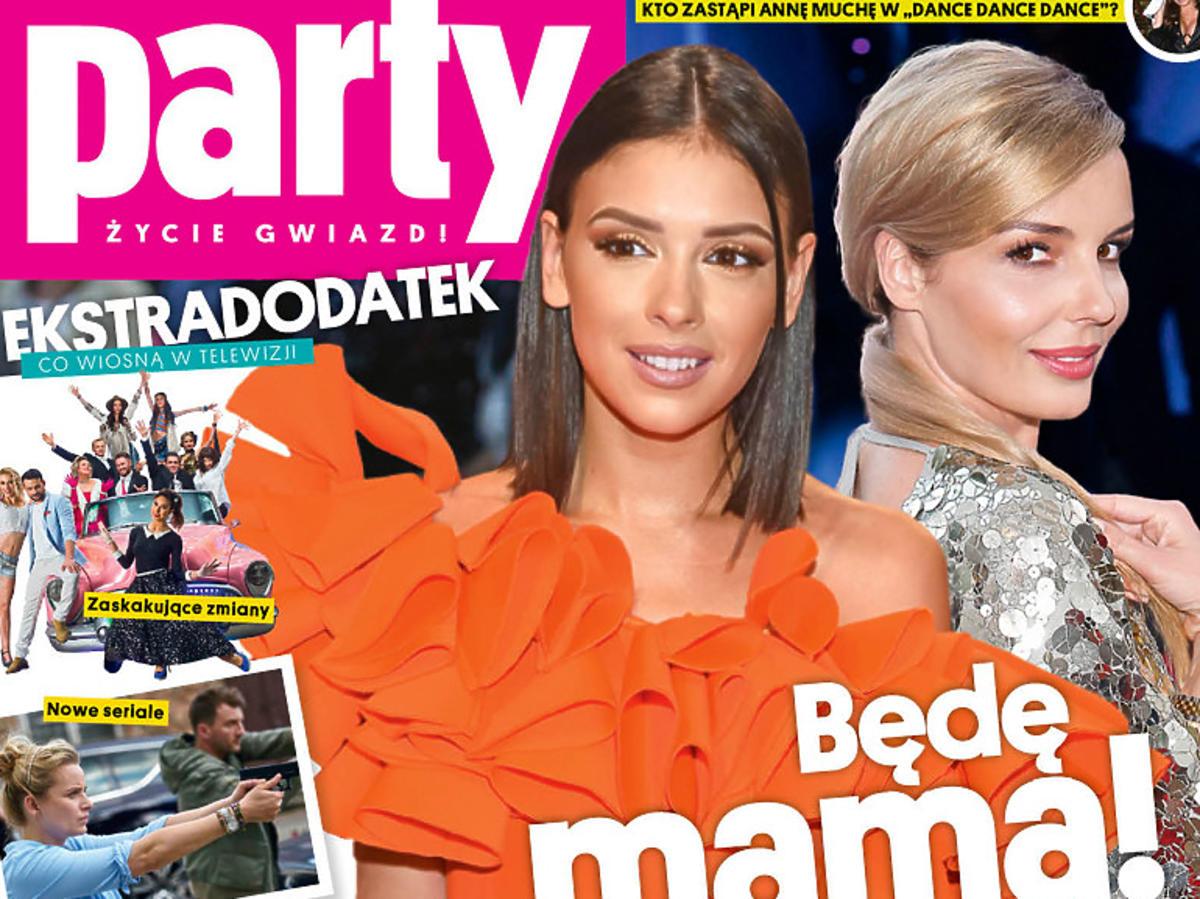 """Klaudia Halejcio w ciąży na okładce """"Party"""""""