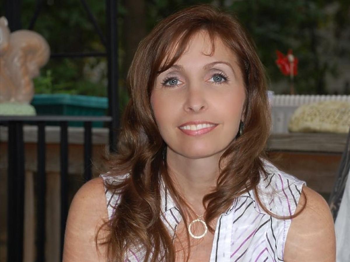 kobieta czterdziestoletnia