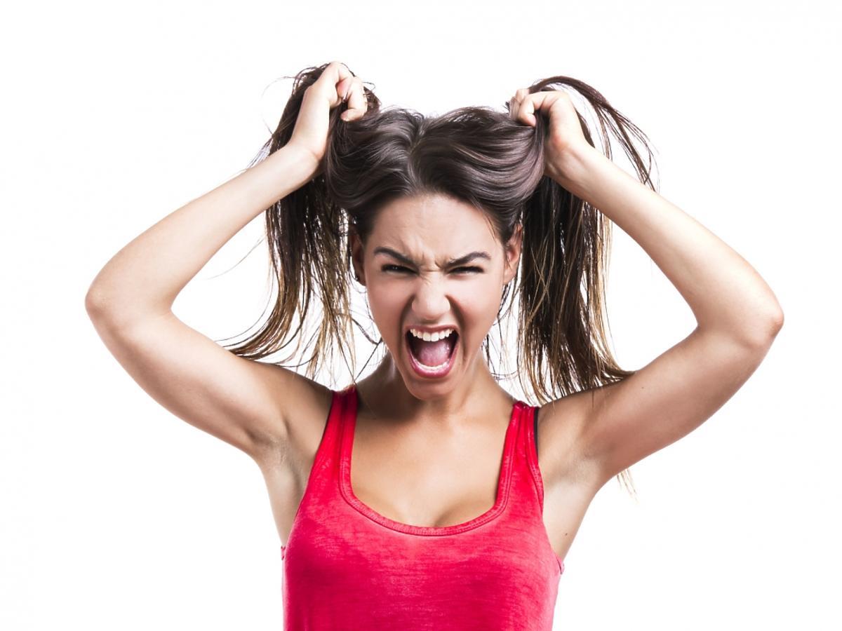 kobieta dostała ataku paniki