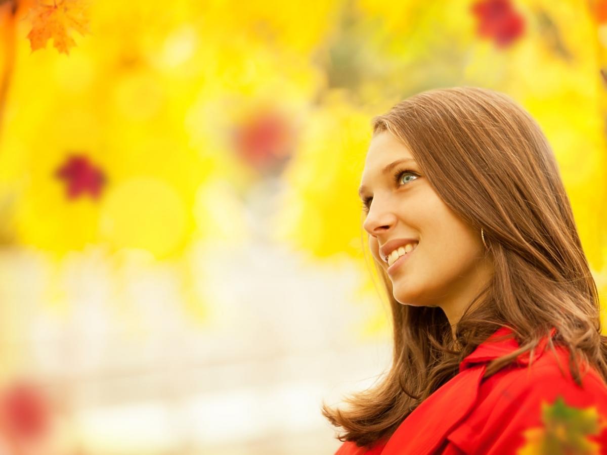 Kobieta z włosami o średniej długości