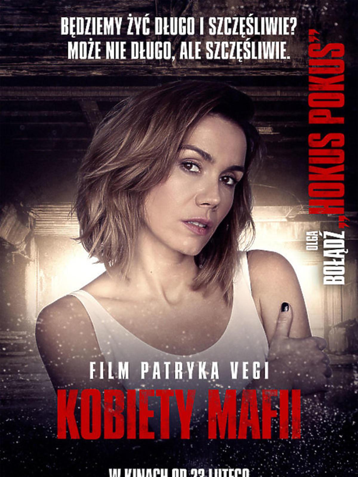 Kobiety mafii - Olga Bołądź na plakacie