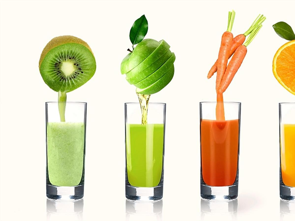 Koktajle owocowo-warzywne
