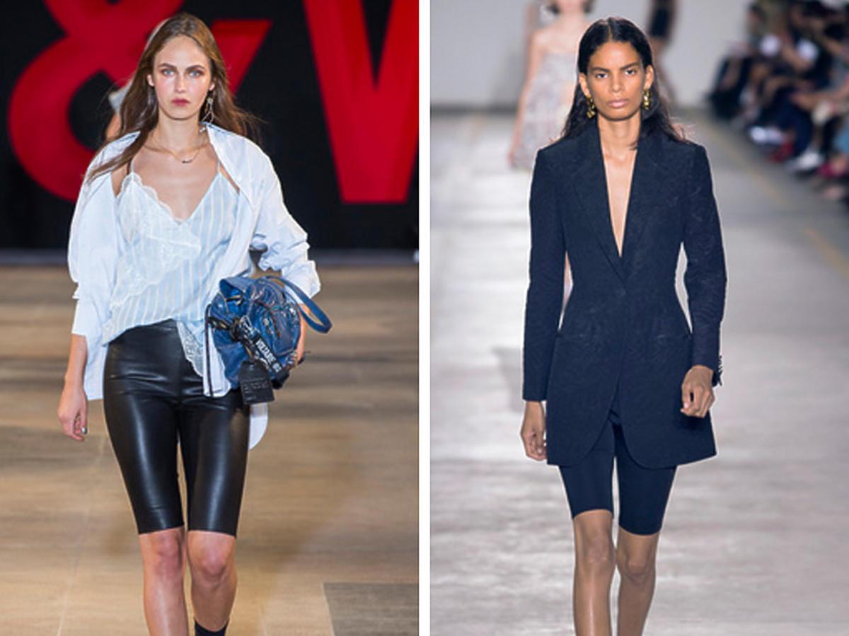 kolarki to najmodniejsze spodnie na wiosnę i lato