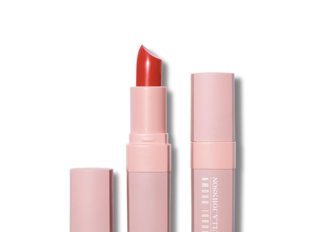 Kolekcja Bobbi Brown i Ulli Johnson czerwona szminka
