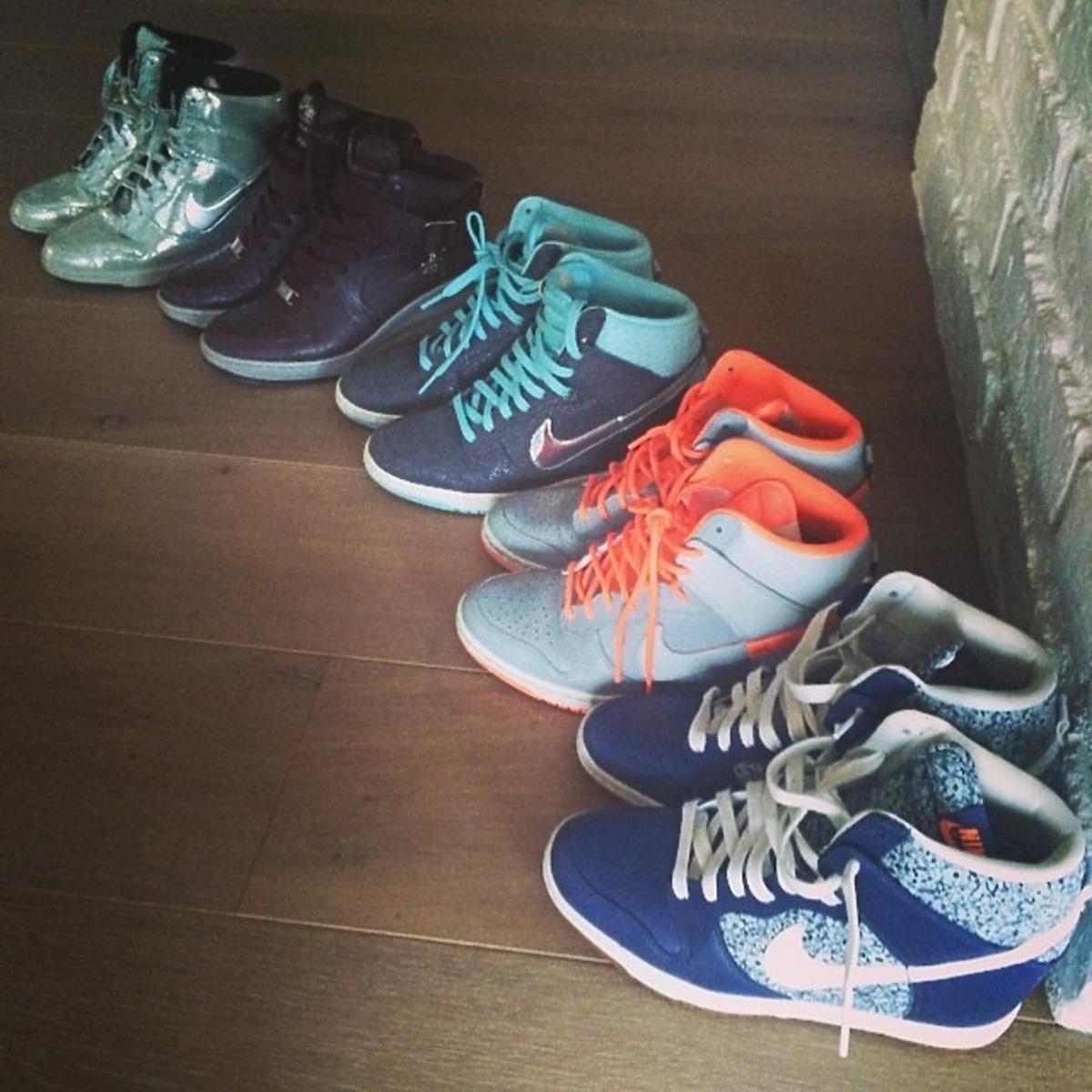Kolekcja butów Anny Lewandowskiej
