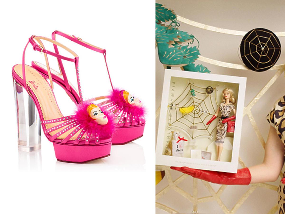 kolekcja Charlotte Olympia x Barbie