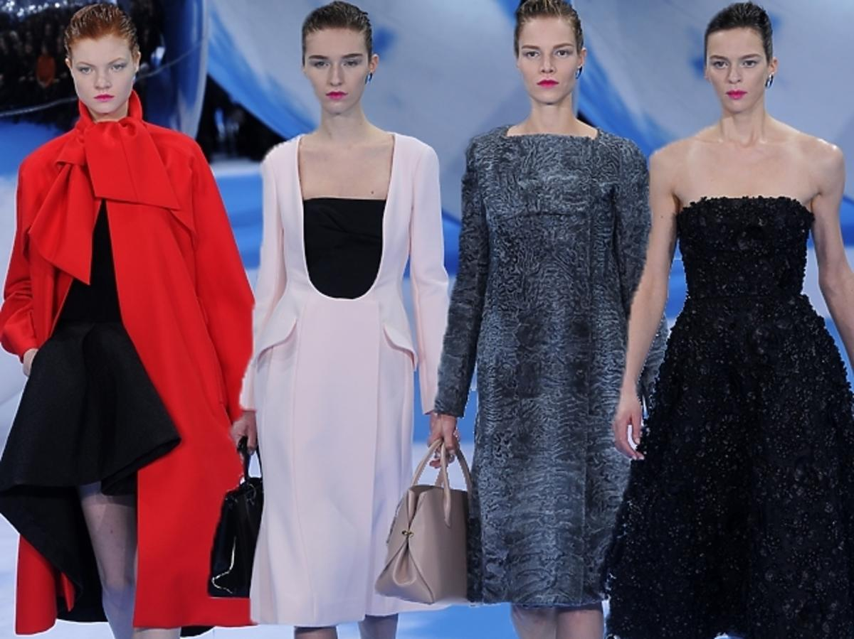 Kolekcja Christian Dior jesień 2013