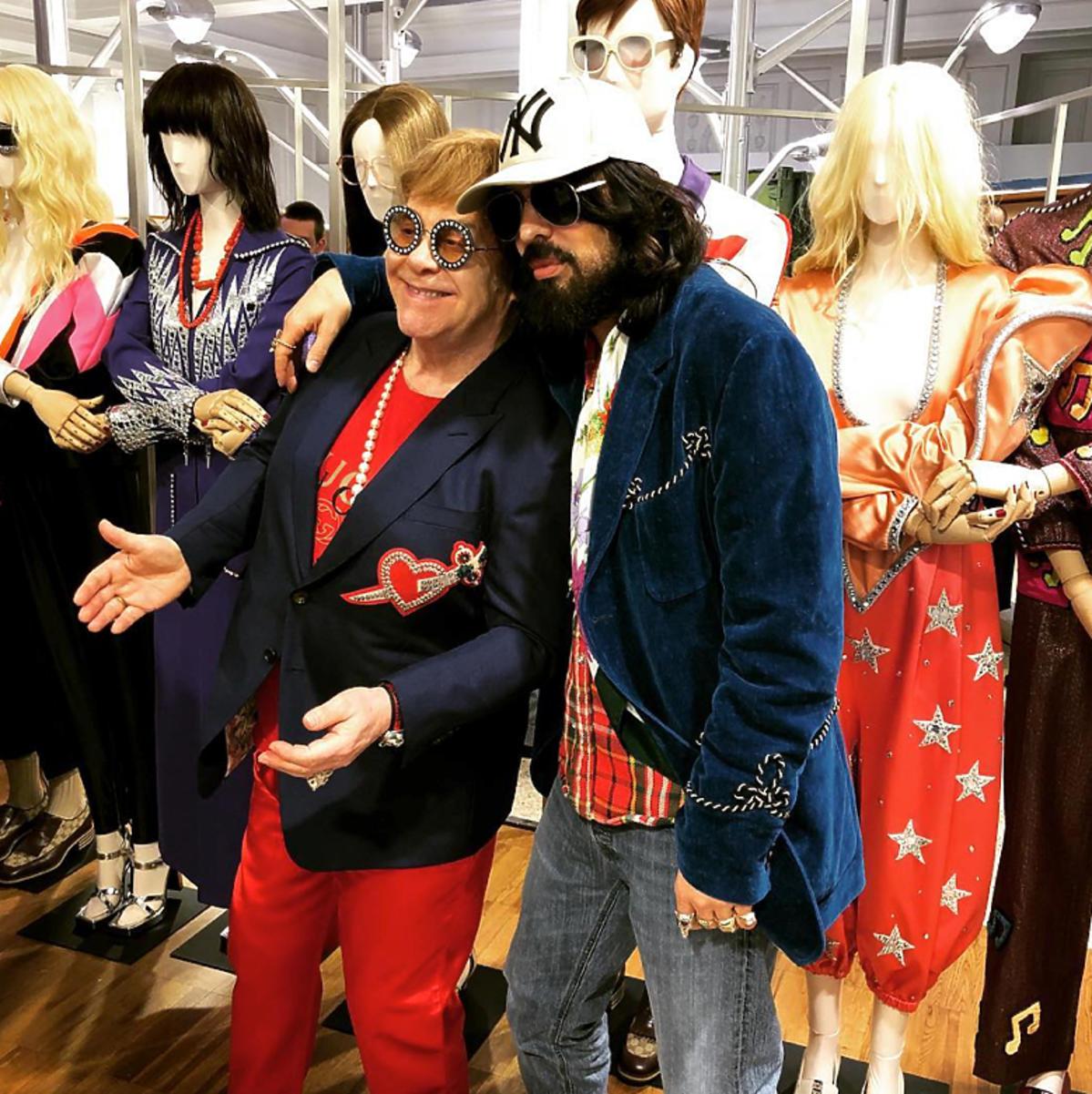 Kolekcja Elton John x Gucci