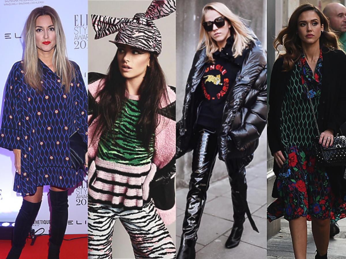 Kolekcja Kenzo x H&M: Karolina Szostak, Maffashion, Jessica Mercedes, Jessica Alba