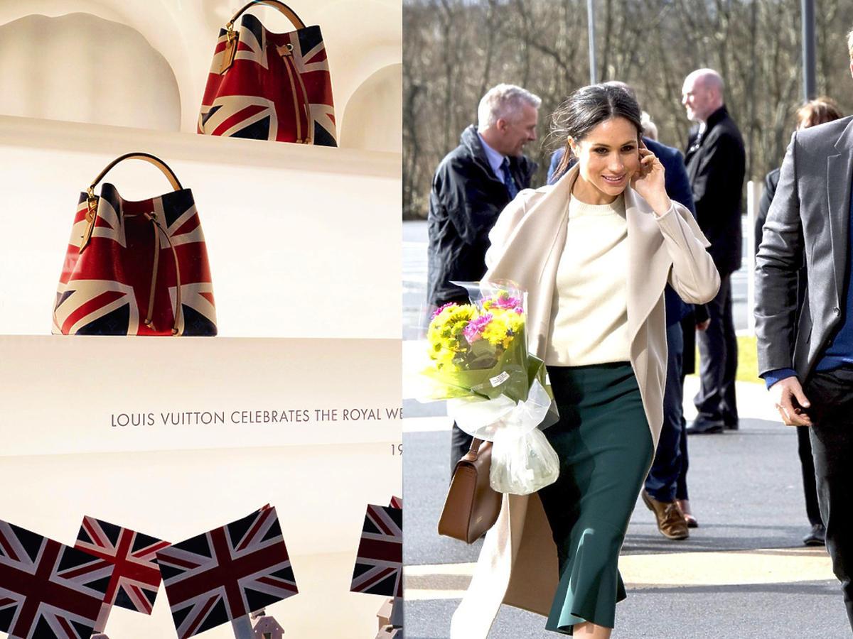 Kolekcja Louis Vuitton z okazji ślubu Meghan i Harry'ego