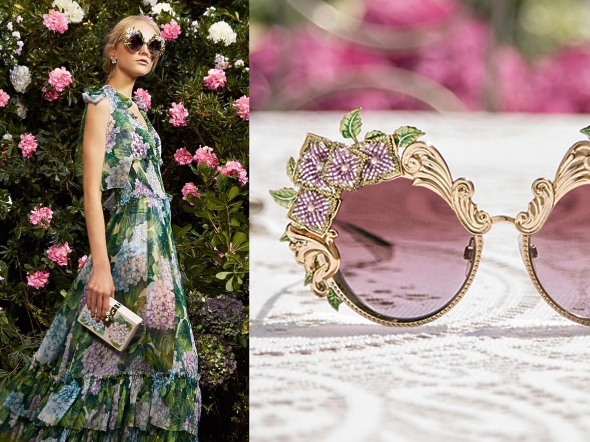 Kolekcja okularów Dolce & Gabbana Ortensia