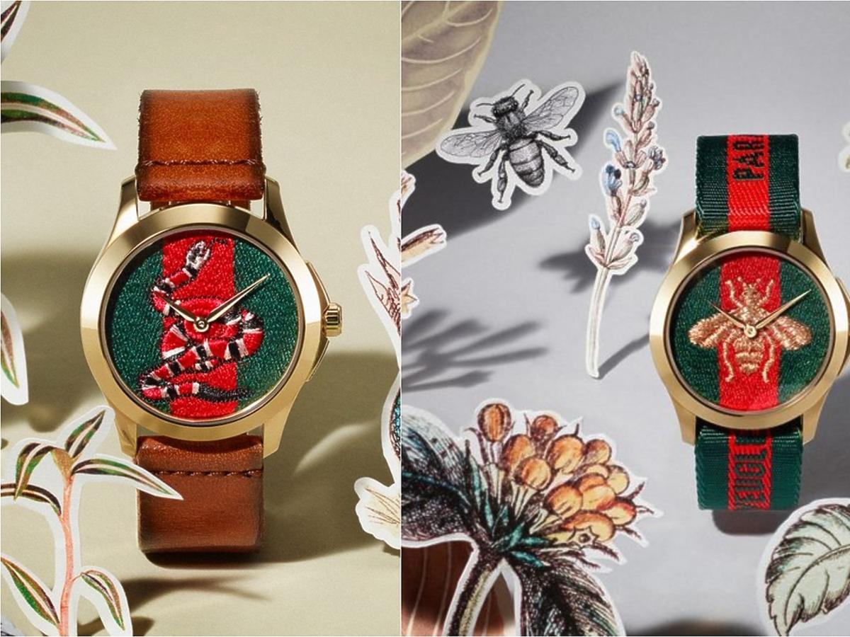 Kolekcja zegarków Le Marché des Marveilles od Gucciego
