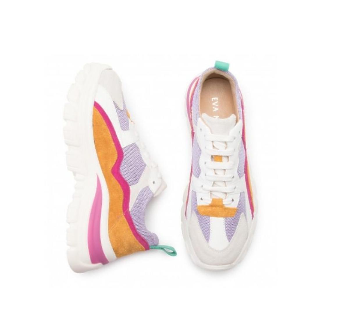kolorowe sneakersy eobuwie.pl