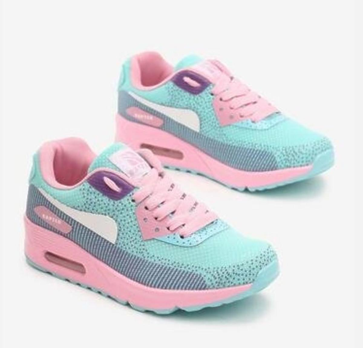 kolorowe sneakersy Renee