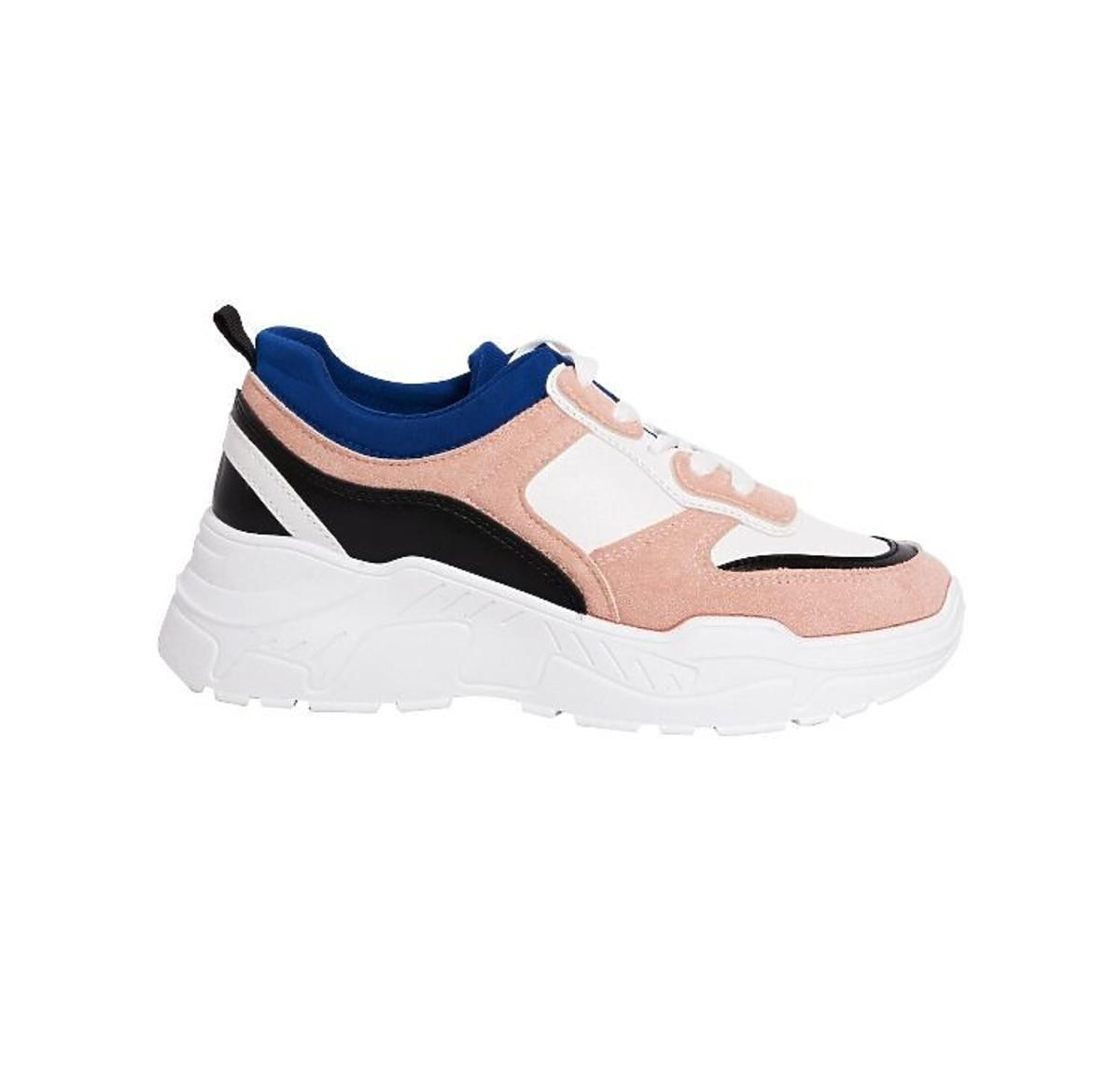 kolorowe sneakersy Sinsay