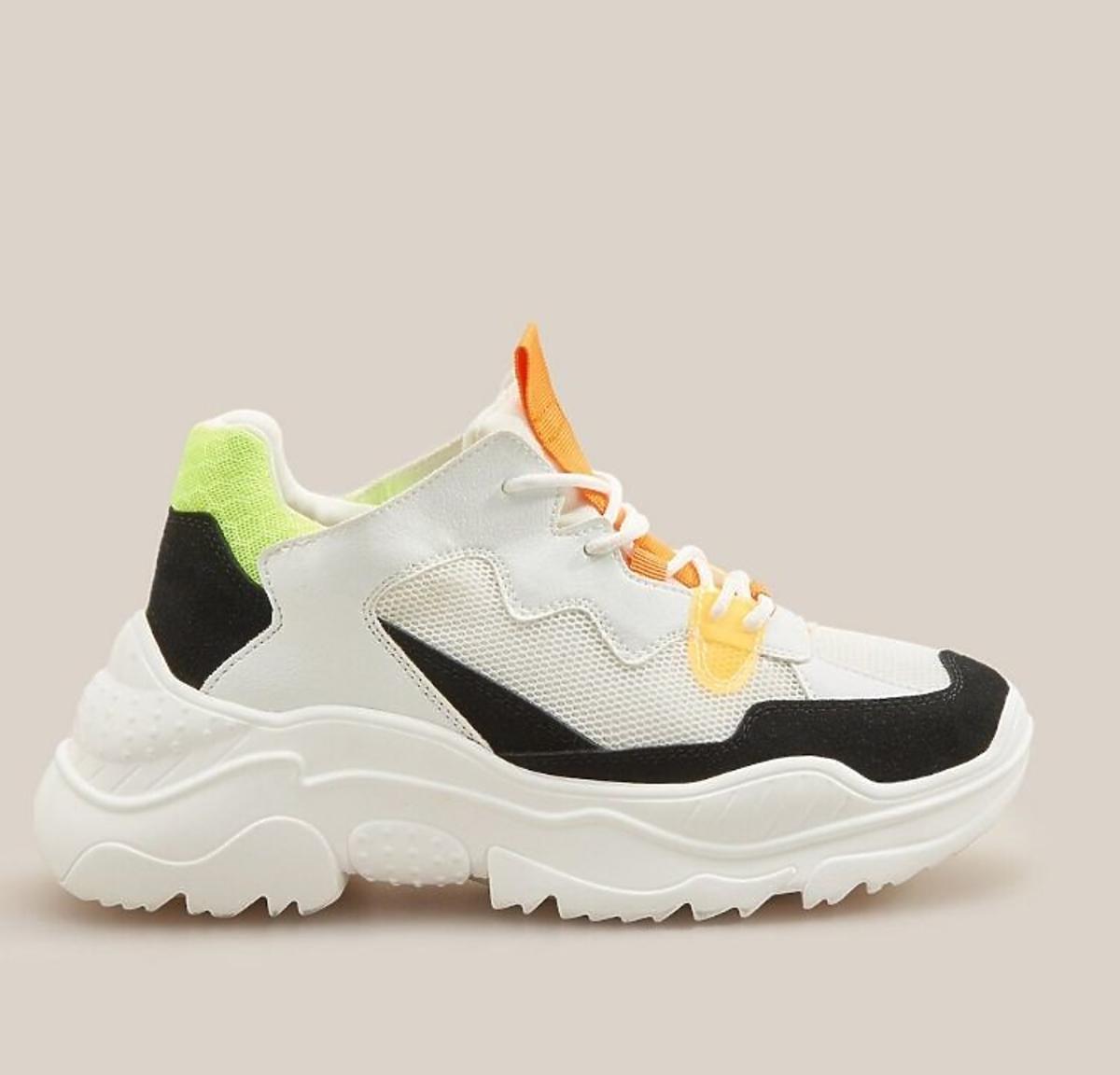 Kolorowe sneakersy  wyprzedaż Reserved
