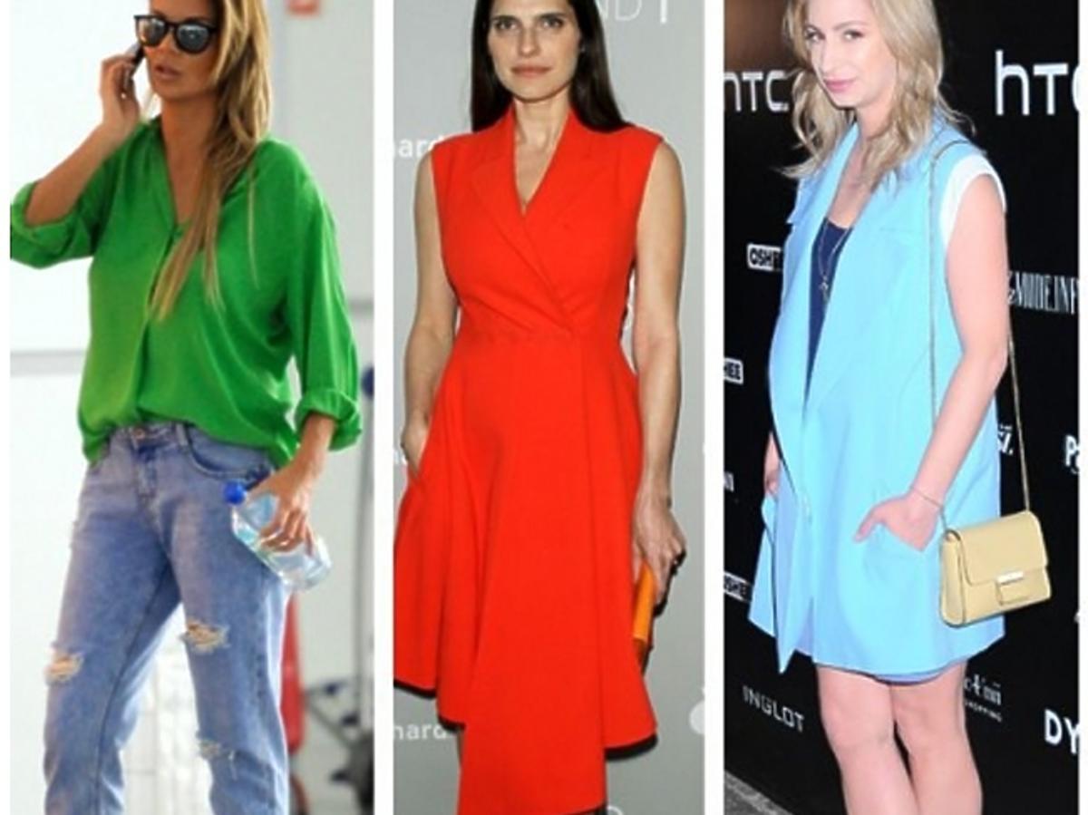 Kolorowe szpilki - moda lato 2015