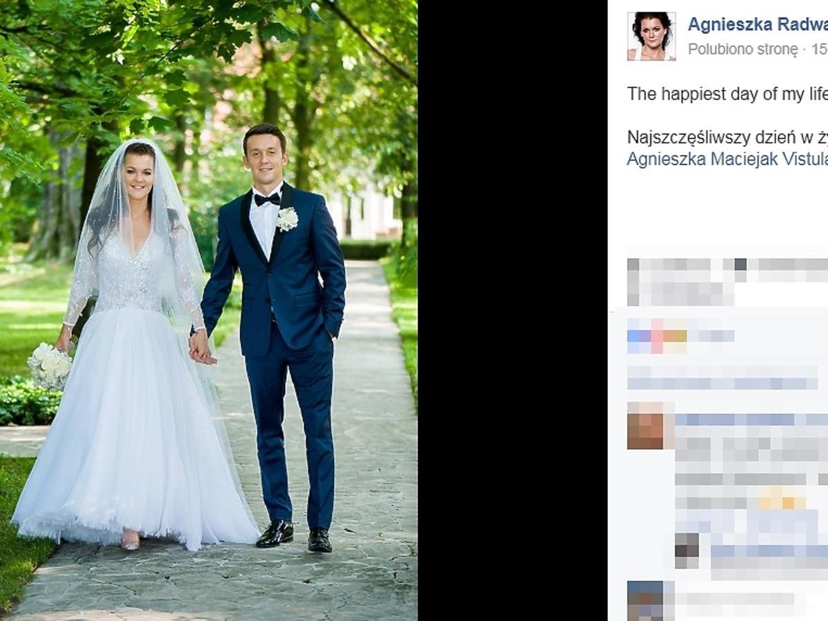Komentarz Agnieszki Radwańskiej po ślubie