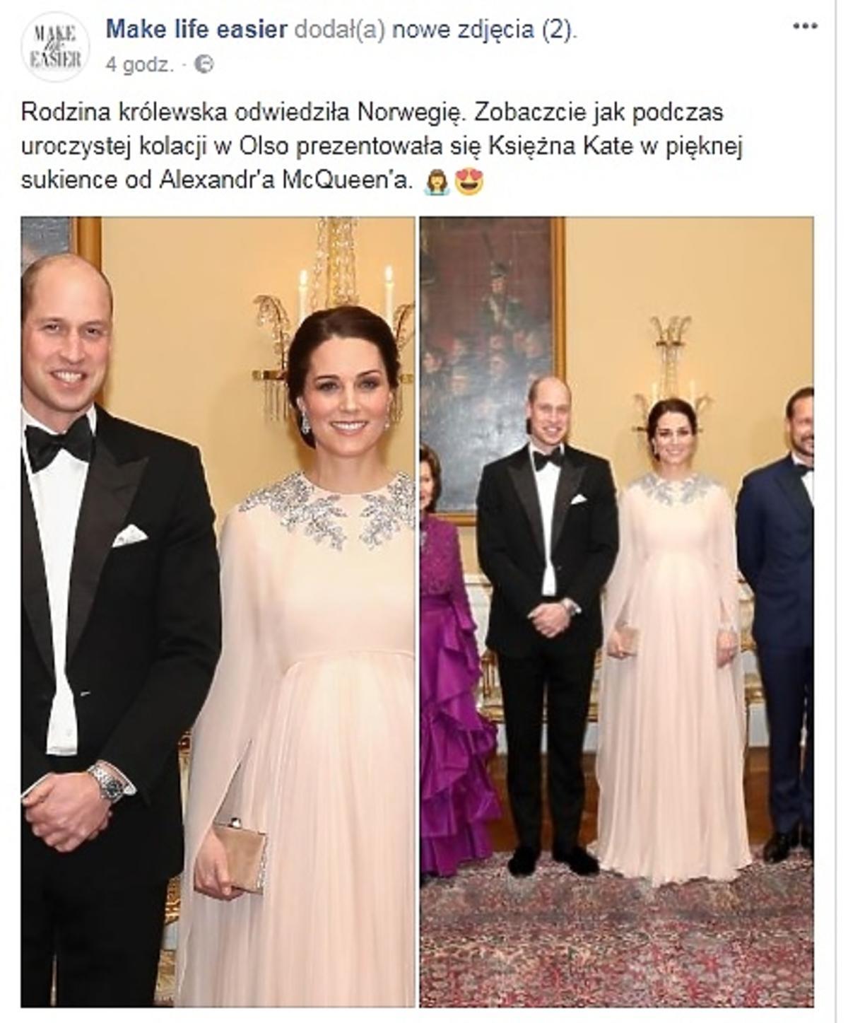 Komentarz Kasi Tusk o kreacji księżnej Kate z Norwegii