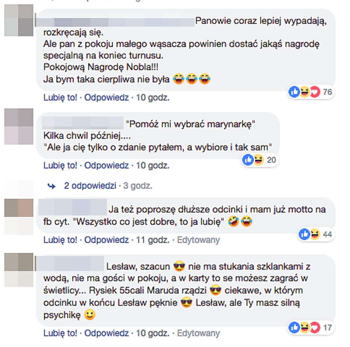 Komentarze po Sanatorium Miłości