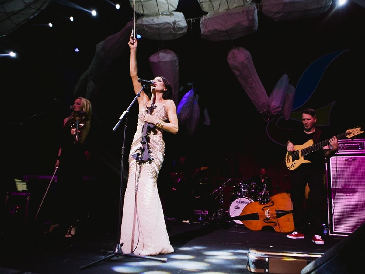 Koncert Justyny Steczkowskiej w Chinach