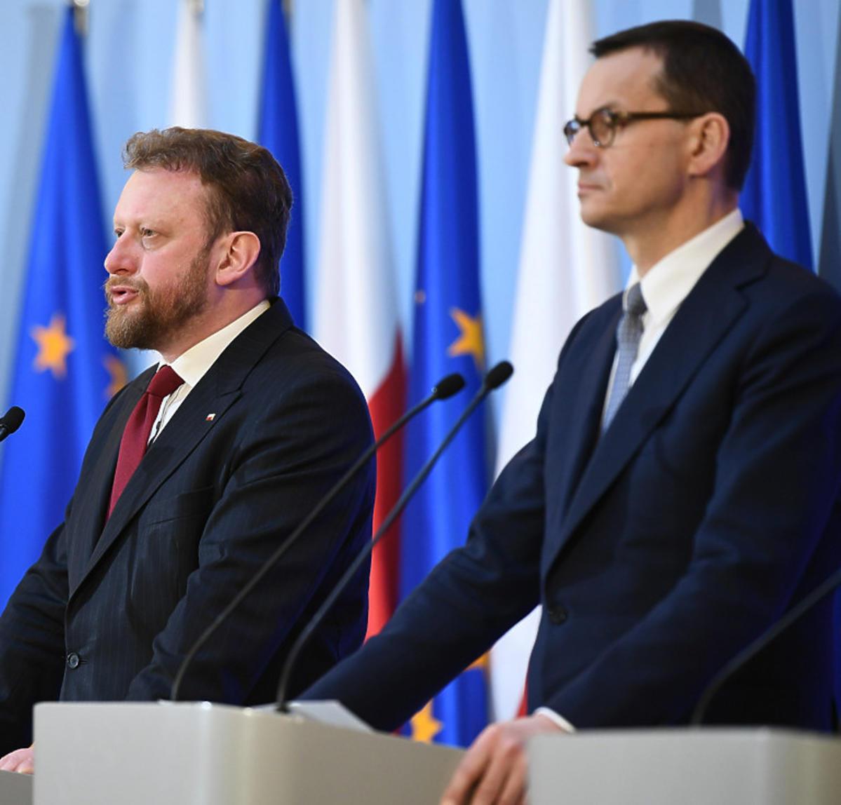 Konferencja o koronawirusie w Polsce
