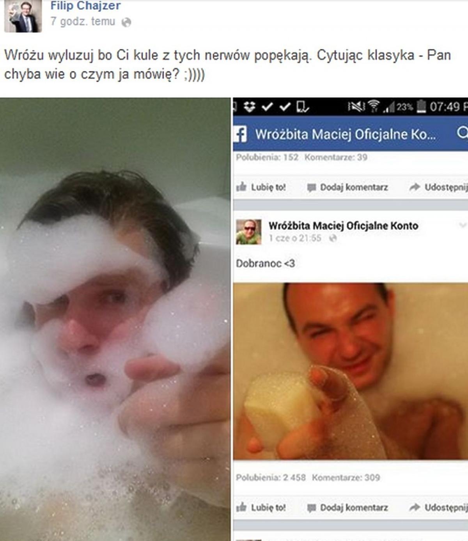 Konflikt Filipa Chajzera i wróżbity Macieja