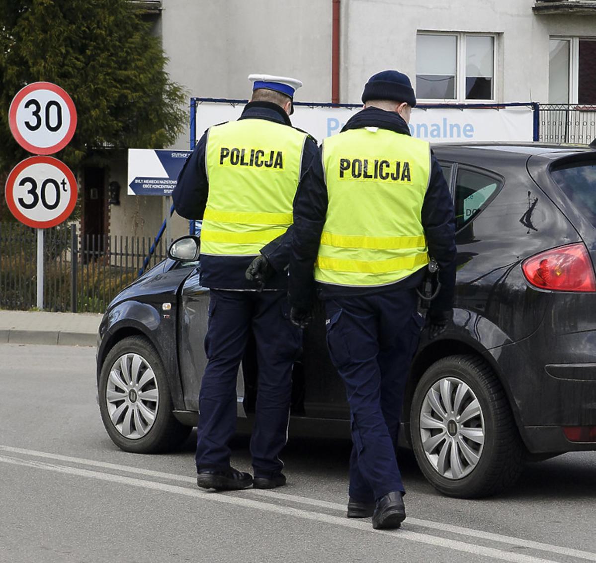 Kontrole policji w związku z koronawirusem