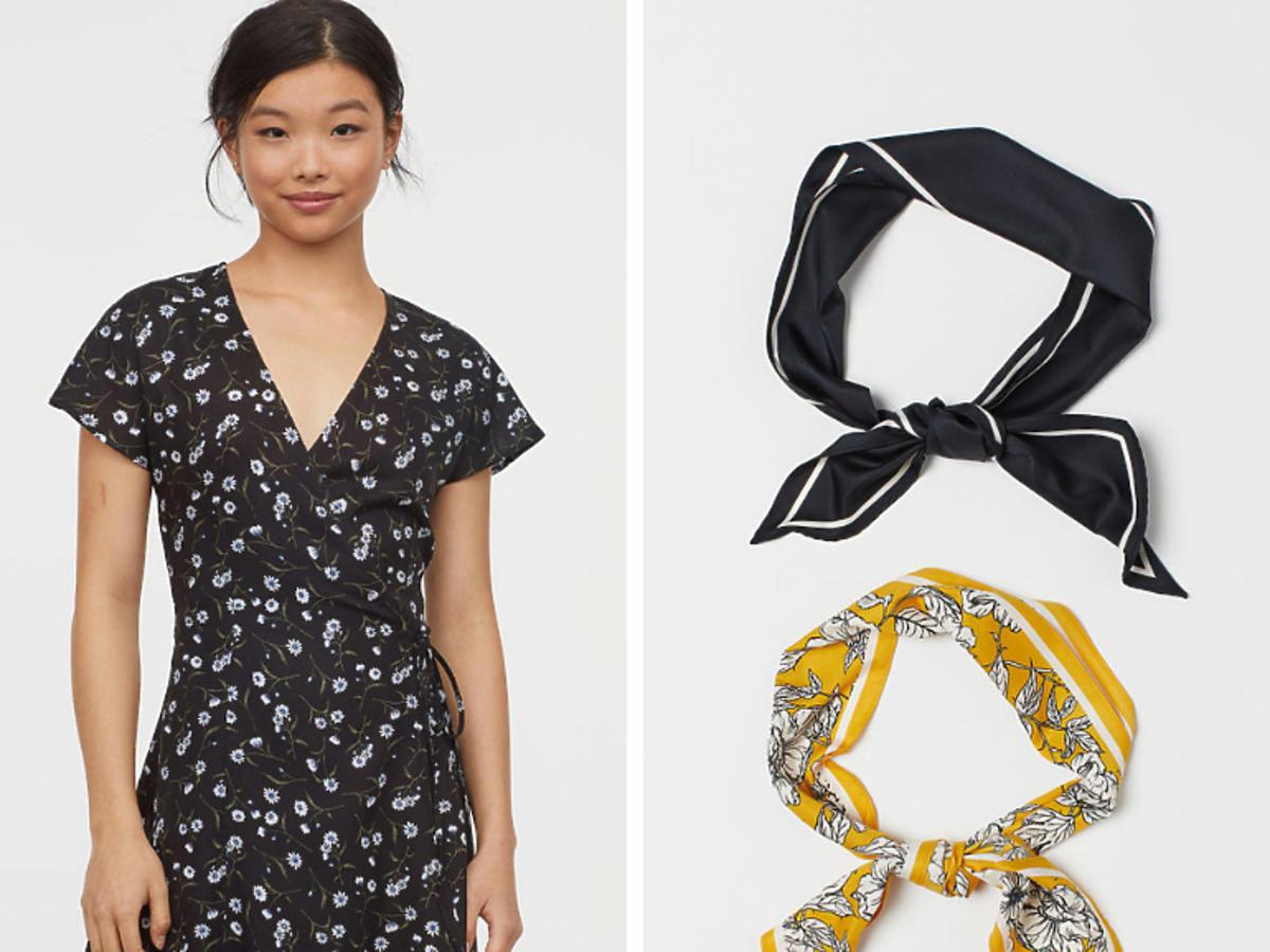 Kopertowa sukienka H&M cena 34,90 zł