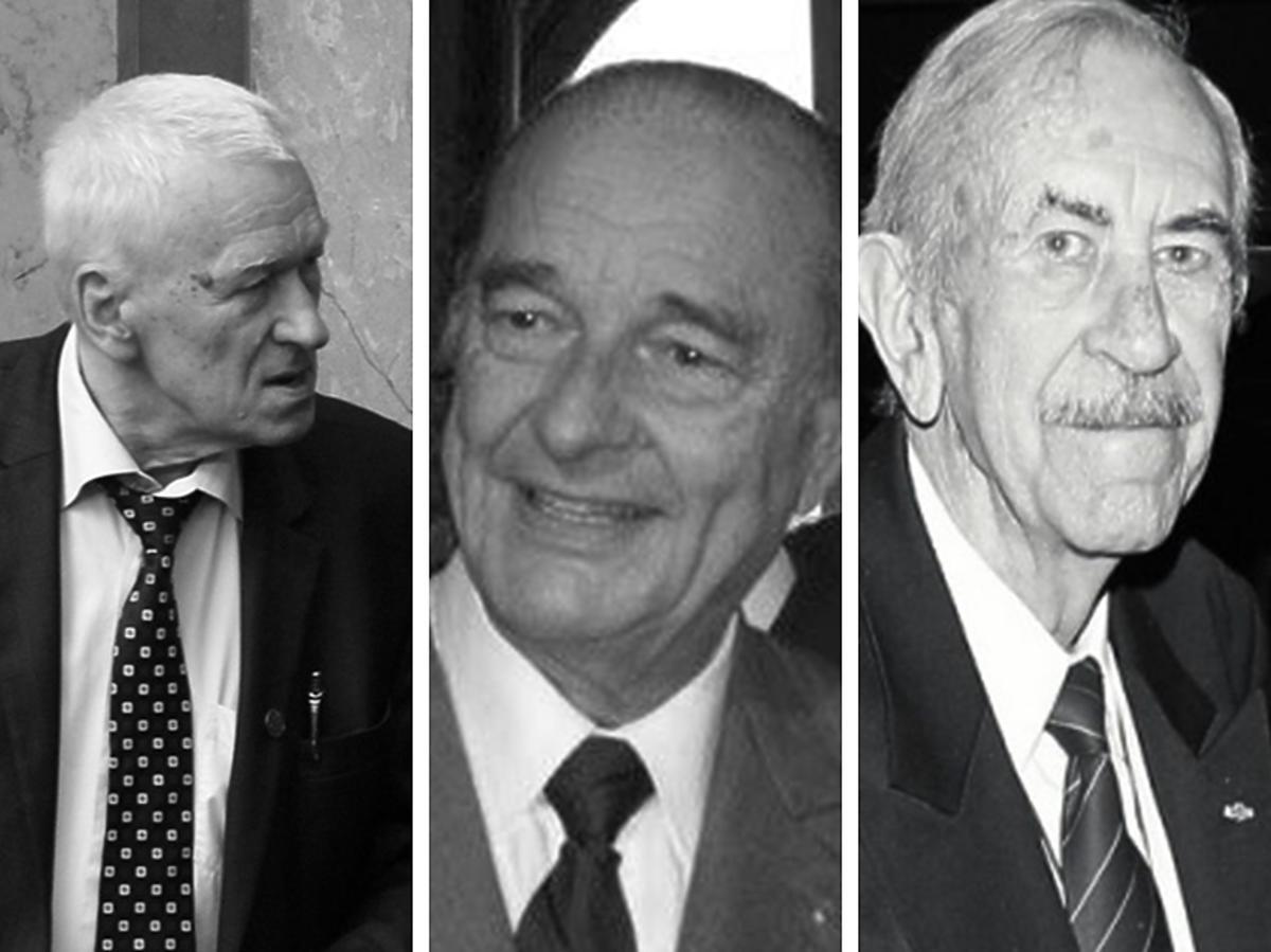 Kornel Morawiecki, Jacques Chirac, Jan Kobuszewski