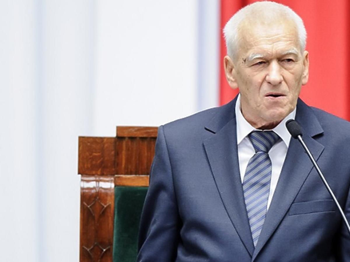 Kornel Morawiecki przemawia w Sejmie