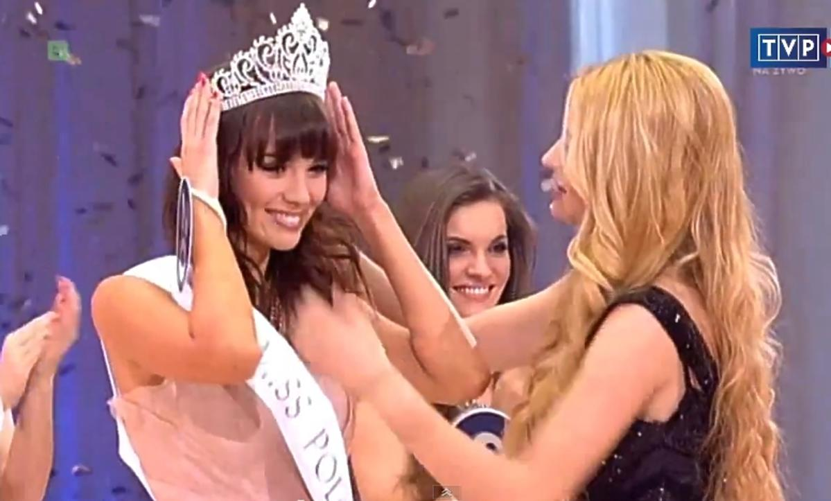 Koronacja Pauliny Krupińskiej na Miss Polonia 2012