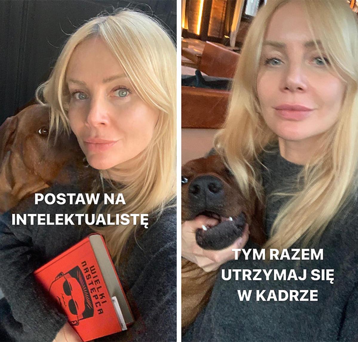 Koronawirus w Polsce: Agnieszka Woźniak-Starak zostaje w domu